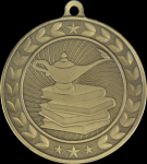 Illusion Lamp of Knowledge Medals Illusion Medal Awards