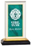 Green/Gold Royal Impress Acrylic Marble Acrylic Awards