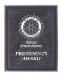 Black Marble Border Clear Acrylic Award Plaque Marble Awards