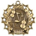 Orchestra Ten Star Medal Music Trophy Awards