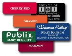 Metal Name Badges - Laser Engraved Name Badges | Plates