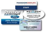 Full Color Plastic Name Badges Name Badges | Plates