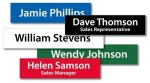 8 and 10 Plastic Name Plate - Insert only Name Plates/Desk Wedge
