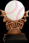 Ribbon Baseball Resin Ribbon Resin Trophy Awards