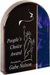 Blue Velvet Arch Acrylic Sales Awards