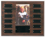 Cherry Finish Photo Perpetual Plaque Sales Awards