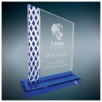 Blue Diamond Ice Unite Acryilc Sales Awards