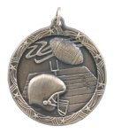 Shooting Star Football Medal Shooting Stars Medallion Awards