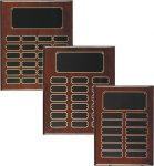 Rosewood Piano Finish Perpetual Plaque Small Perpetual Plaques