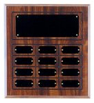 Perpetual Plaque with 12 Plates Small Perpetual Plaques