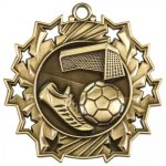 Ten Star Soccer Medal Soccer Trophy Awards
