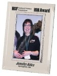 Silver & Glass Picture Frame Award Square Rectangle Awards