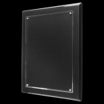 Carbon Fiber Floating Plaque with Magnetic Standoffs Square Rectangle Awards