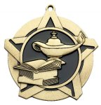 Knowledge Super Star Medal  Gold Super Star Medal Awards