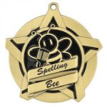 Spelling Bee Super Star Medal Super Star Medal Awards
