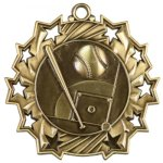 Baseball Ten Star Medal Ten Star Medal Awards