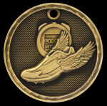 3D Track Medal Track Trophy Awards