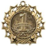 1st Place Ten Star Medal Trapshooting Trophy Awards