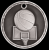3D Basketball Medal 3-D Series Medal Awards