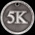 3D 5K Medal Track Trophy Awards