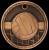 3D Volleyball Medal Volleyball Trophy Awards